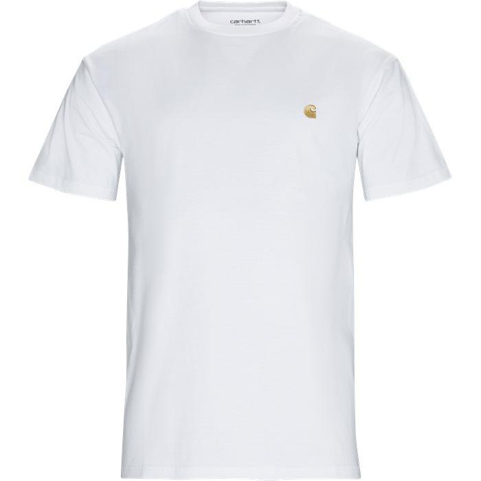 T-shirts - Regular - Vit