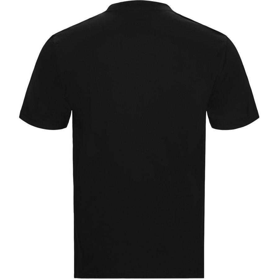S/S SPEEDLINES I026439 - S/S Speedlines - T-shirts - Regular - BLK/WHI - 2