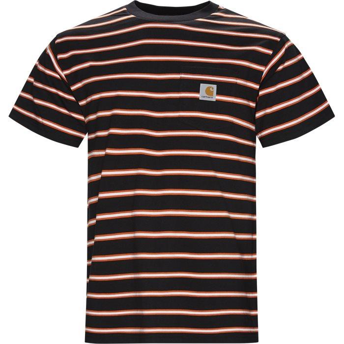 Houston Pocket Tee - T-shirts - Regular - Sort