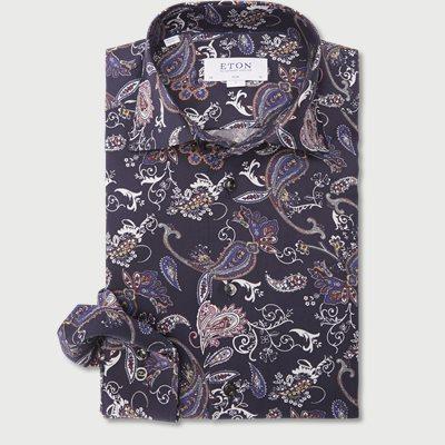 3036 Signature Twill Skjorte 3036 Signature Twill Skjorte | Blå