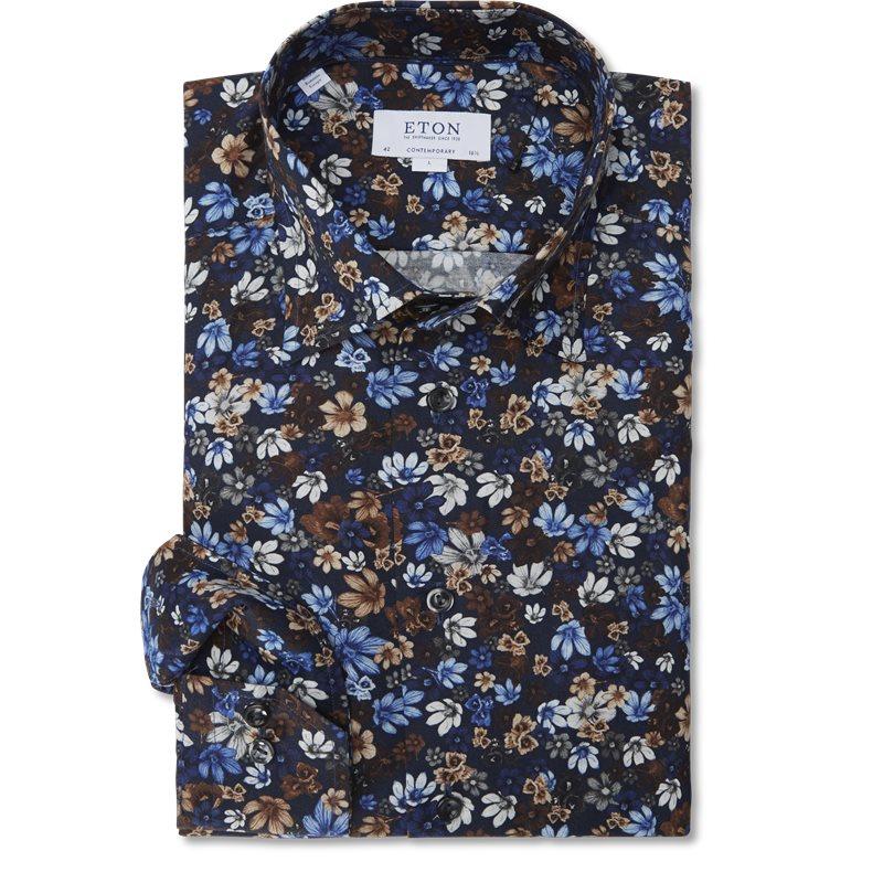 eton – Eton - signature twill skjorte på kaufmann.dk