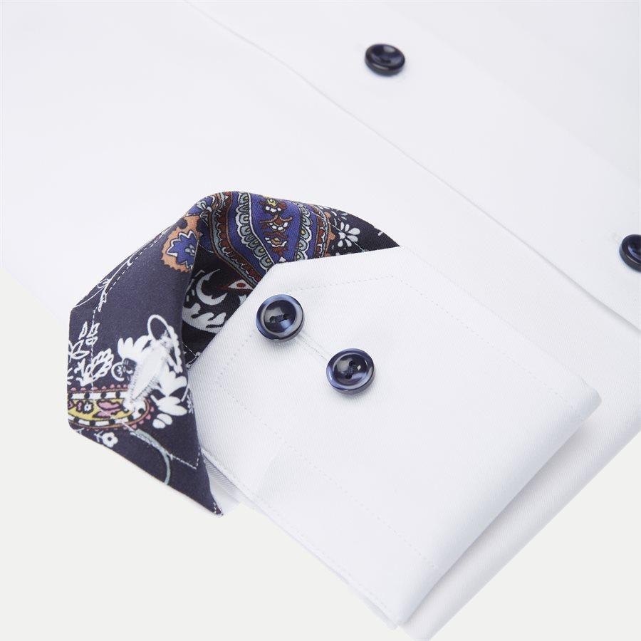 3000 00625/00323 - 3000 Signature Twill Skjorte - Skjorter - HVID - 4