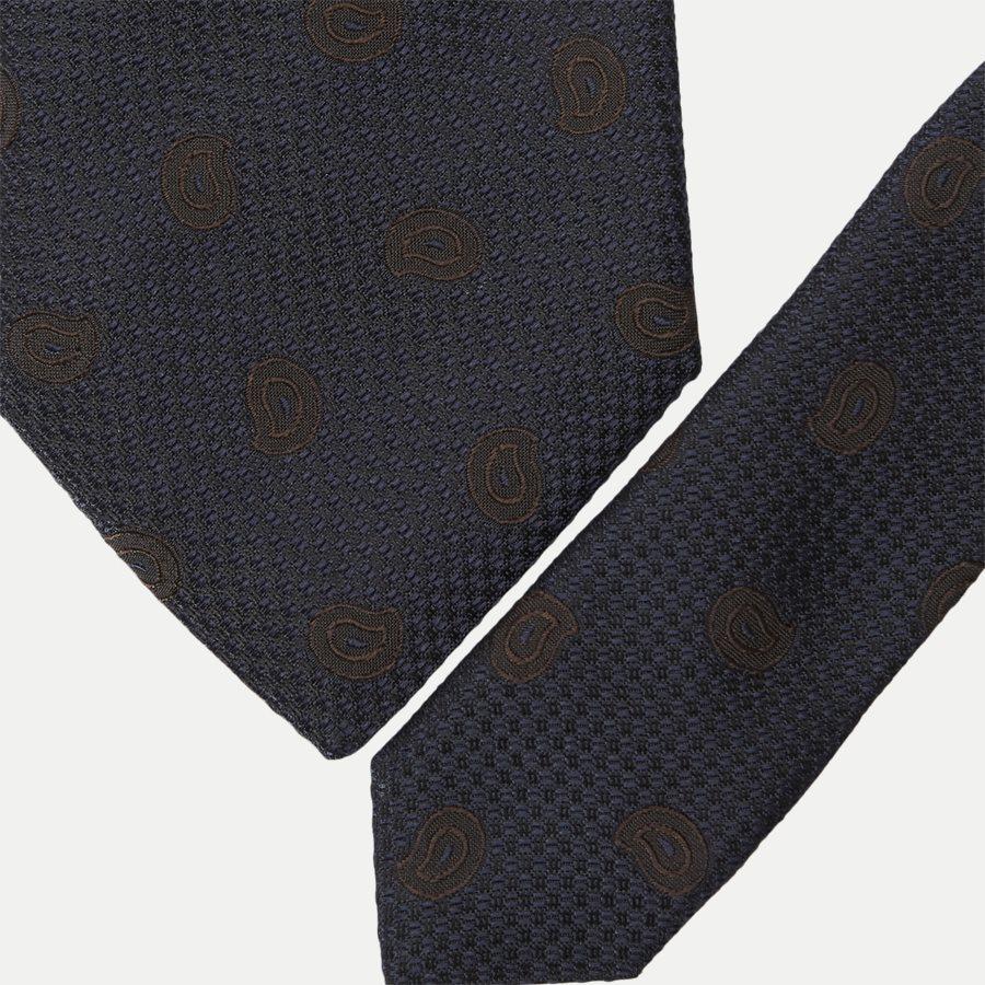 A00031120 - Krawatten - NAVY - 2
