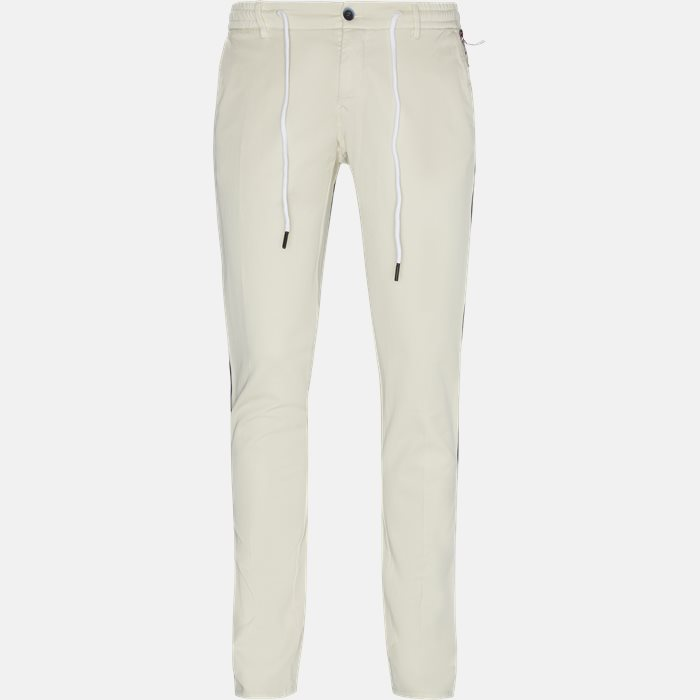 Trousers - Ekstra slim fit - Sand