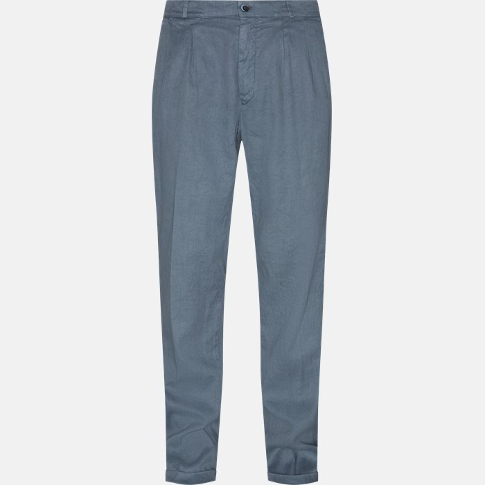 Trousers - Relaxed fit - Blue