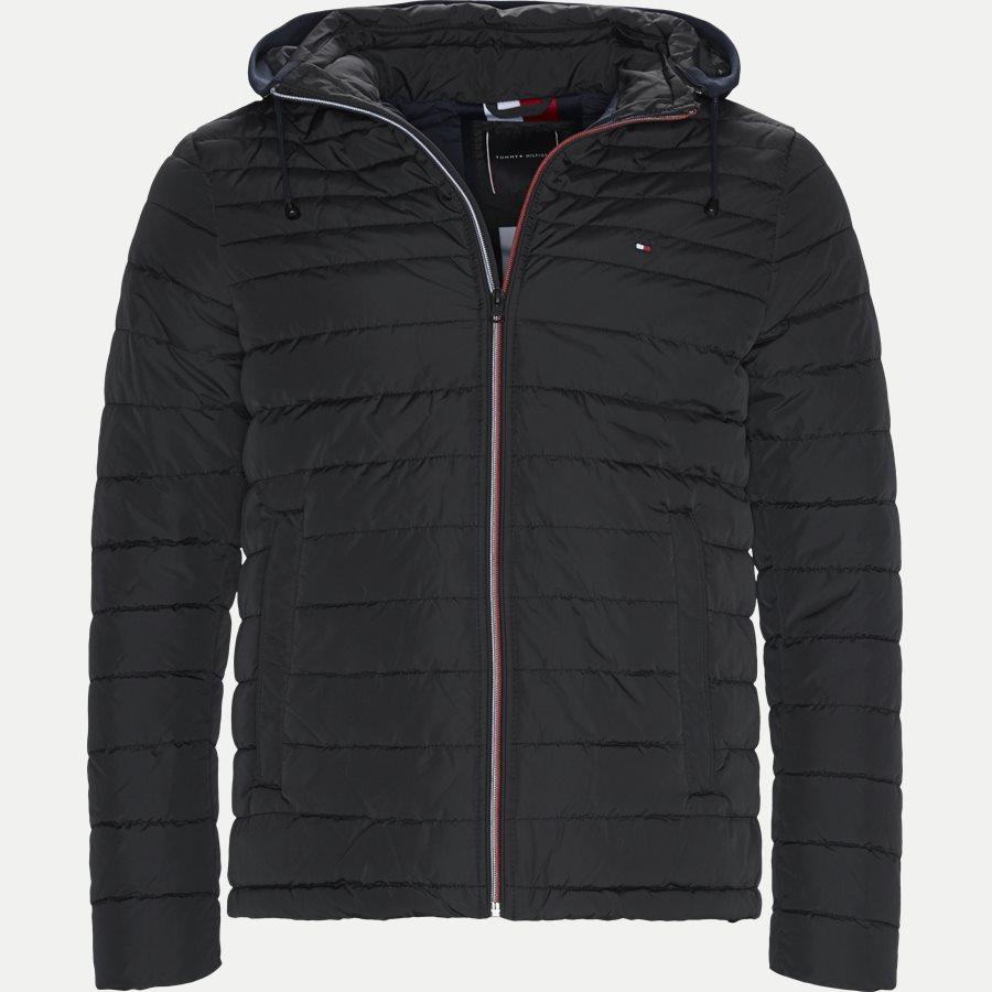 LATHAN - Lathan Detachable Hooded Jacket - Jakker - Regular - SORT - 1