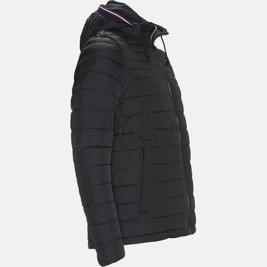 LATHAN - Lathan Detachable Hooded Jacket - Jakker - Regular - SORT - 4