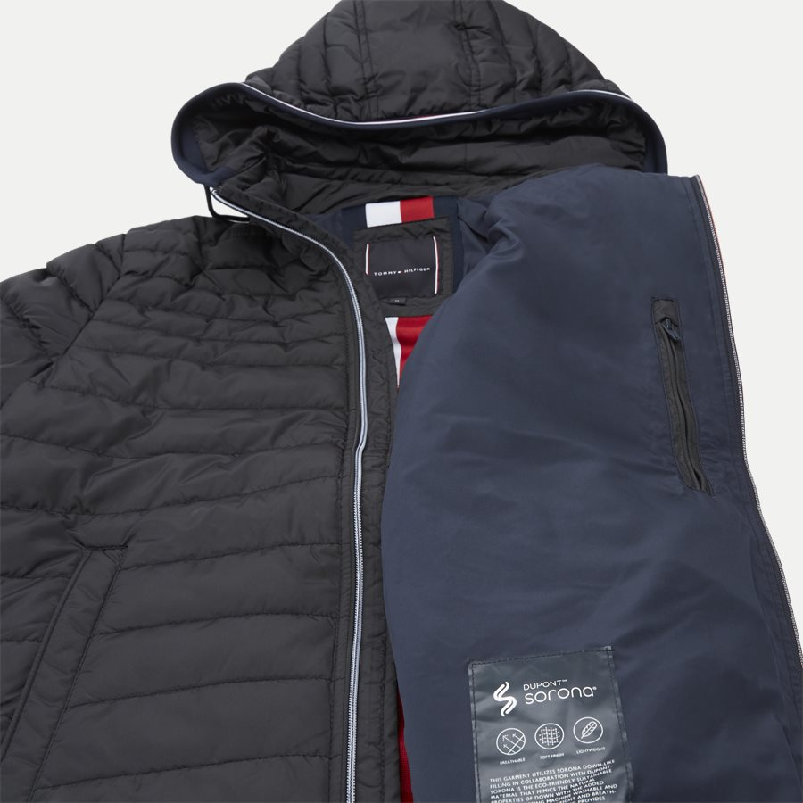 LATHAN - Lathan Detachable Hooded Jacket - Jakker - Regular - SORT - 10