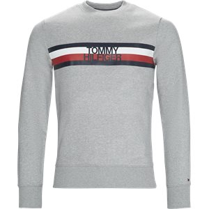 Logo Sweatshirt Regular | Logo Sweatshirt | Grå