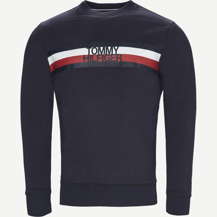 Logo Sweatshirt - Sweatshirts - Regular - Blå
