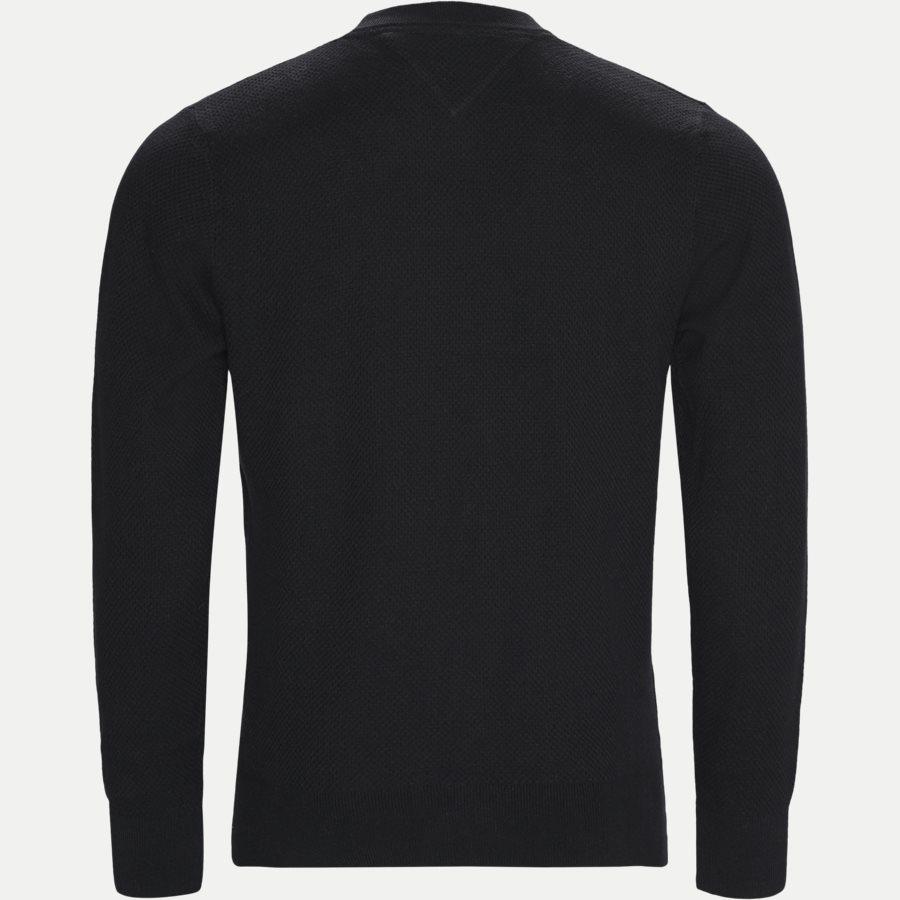 COTTON MESH C-NECK - Cotton Mesh Structured Knit - Strik - Regular - SORT - 2