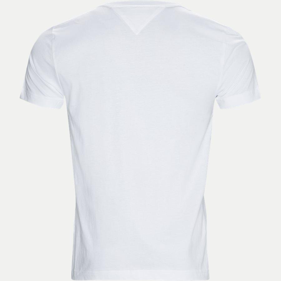 TOMMY LOGO TEE - Logo Tee - T-shirts - Regular - HVID - 2