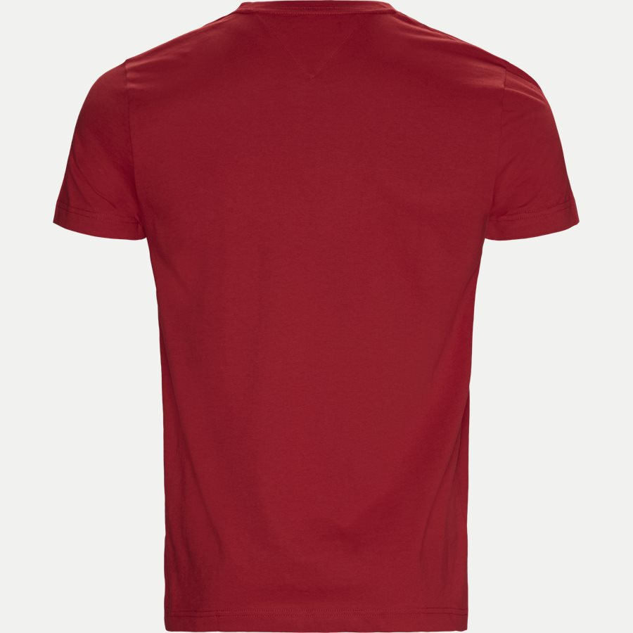 TOMMY LOGO TEE - Logo Tee - T-shirts - Regular - RØD - 2