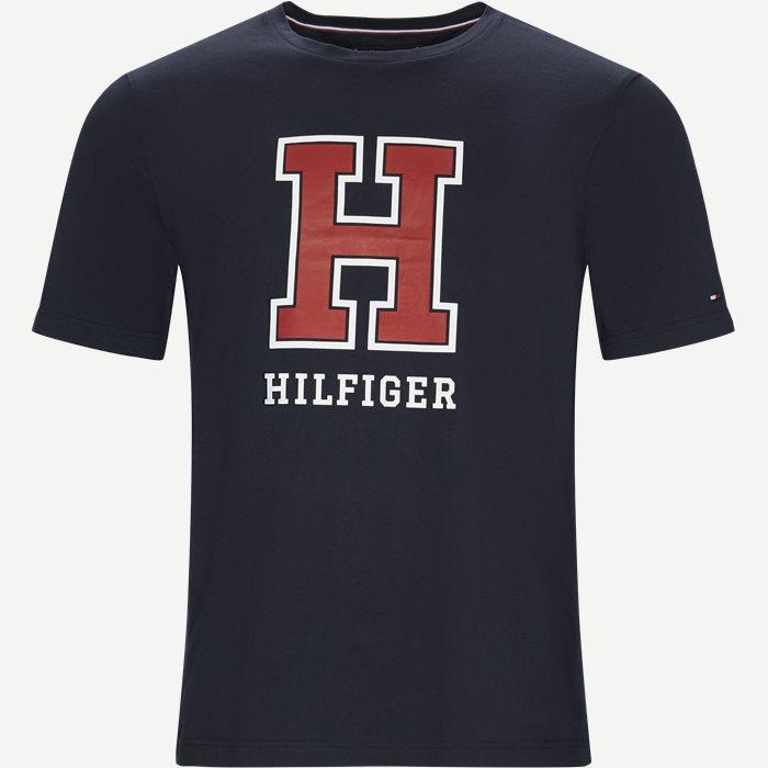WCC H Logo Tee - T-shirts - Regular - Blå