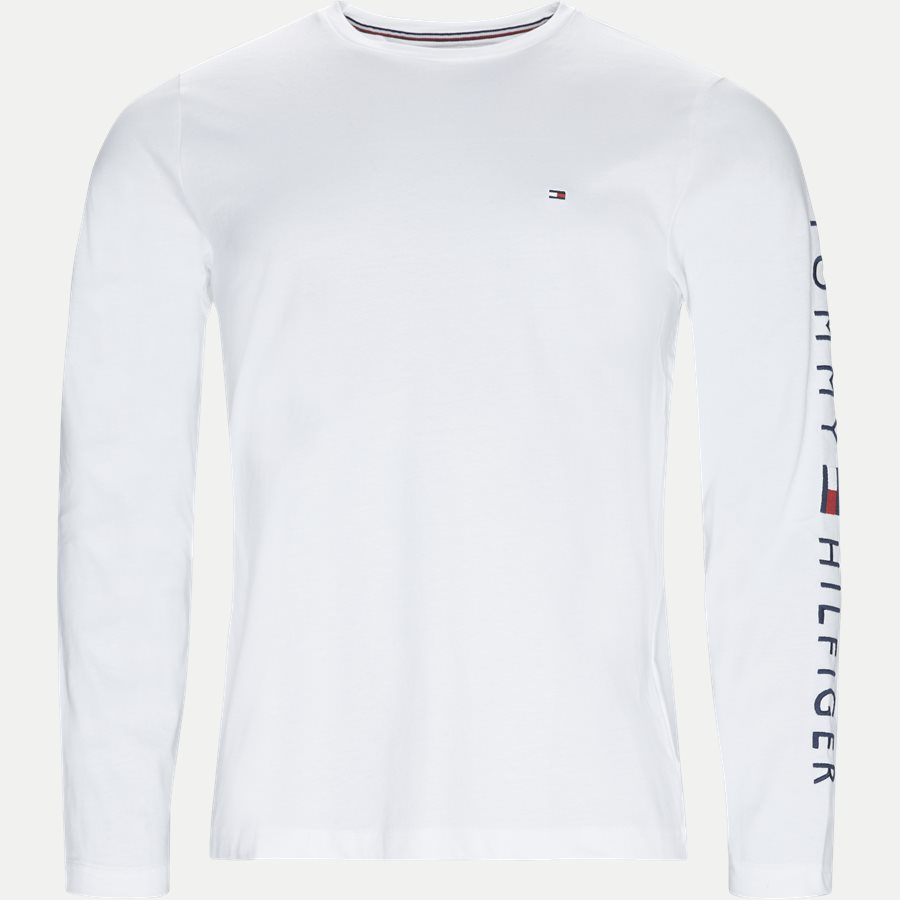 TOMMY LOGO LS TEE - Logo Long Sleeve Tee - T-shirts - Regular - HVID - 1