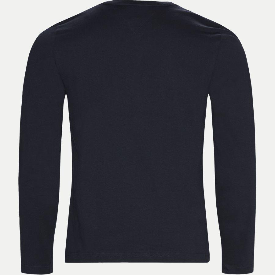 TOMMY LOGO LS TEE - Logo Long Sleeve Tee - T-shirts - Regular - NAVY - 2
