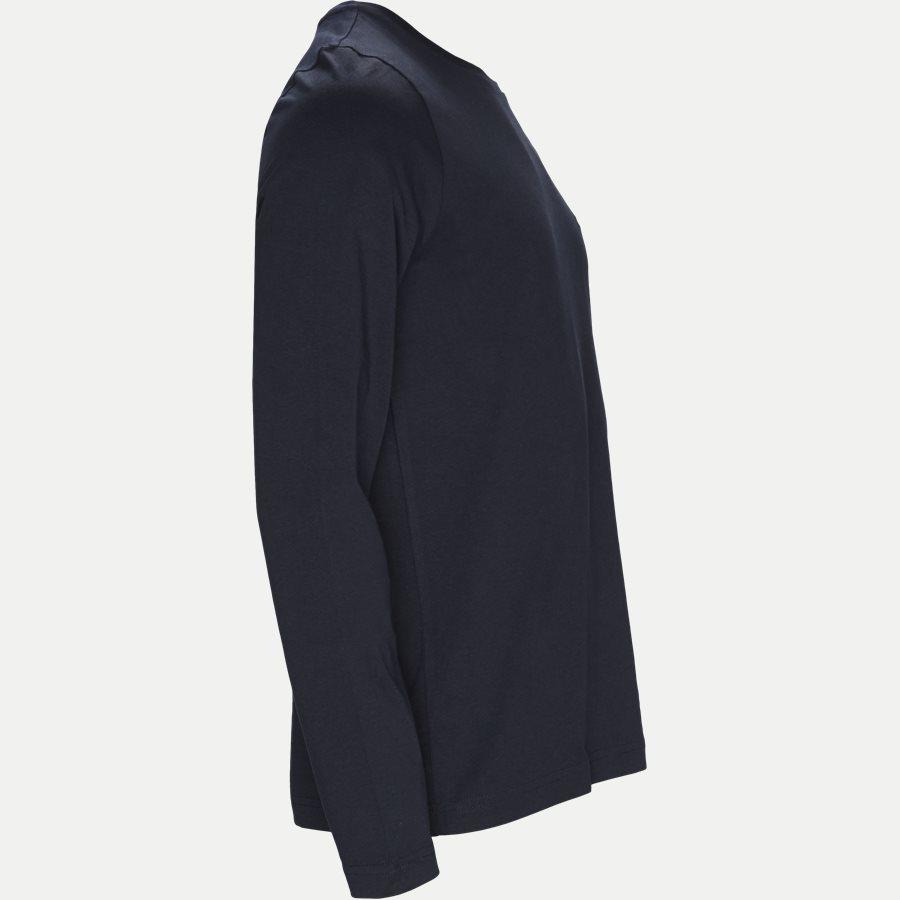 TOMMY LOGO LS TEE - Logo Long Sleeve Tee - T-shirts - Regular - NAVY - 4