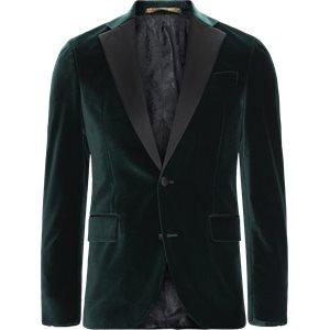 Velvet Rc Smoking Jacket Slim | Velvet Rc Smoking Jacket | Grøn