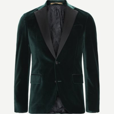 Velvet RC Smoking Jacket Slim | Velvet RC Smoking Jacket | Grøn