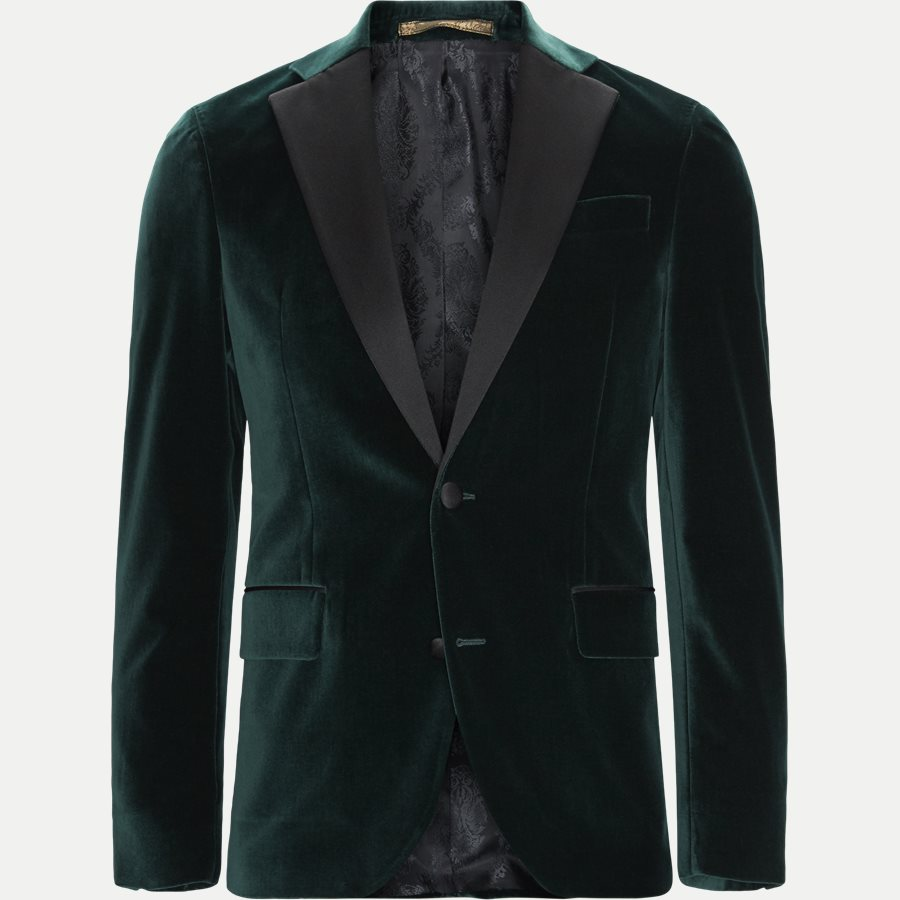 VELVET RC STAR N ST - Velvet RC Smoking Jacket - Blazer - Slim - GRØN - 1
