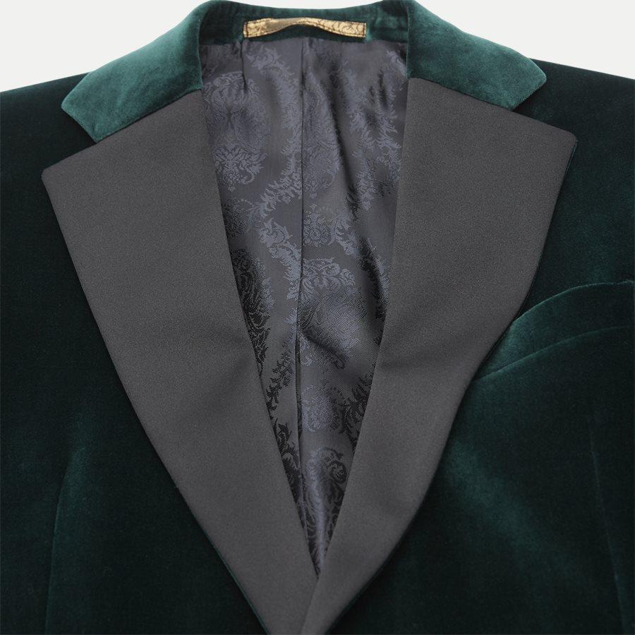 VELVET RC STAR N ST - Velvet RC Smoking Jacket - Blazer - Slim - GRØN - 3