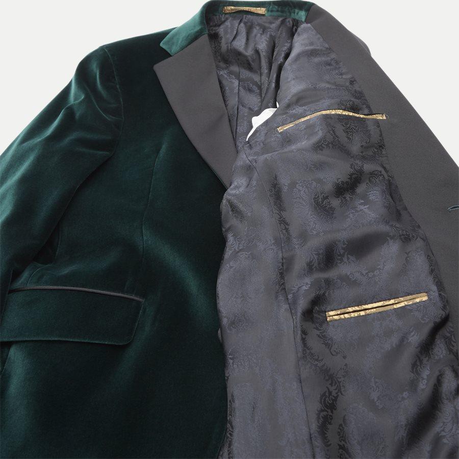 VELVET RC STAR N ST - Velvet RC Smoking Jacket - Blazer - Slim - GRØN - 9