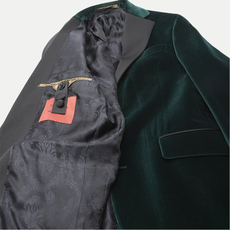 VELVET RC STAR N ST - Velvet RC Smoking Jacket - Blazer - Slim - GRØN - 10