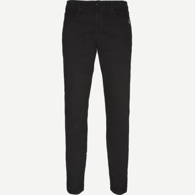 Suede Touch Burton Jeans Regular | Suede Touch Burton Jeans | Grøn