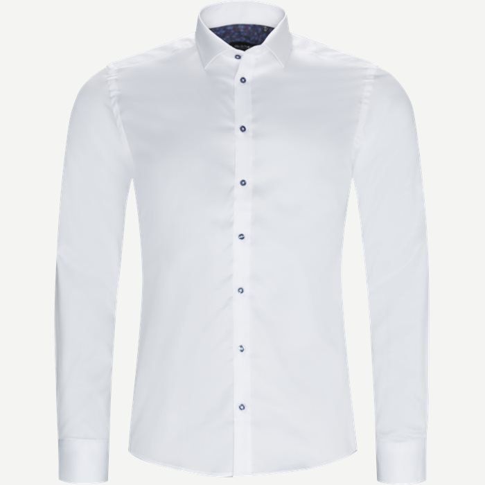 8108 Iver/State Skjorte - Skjorter - Hvid