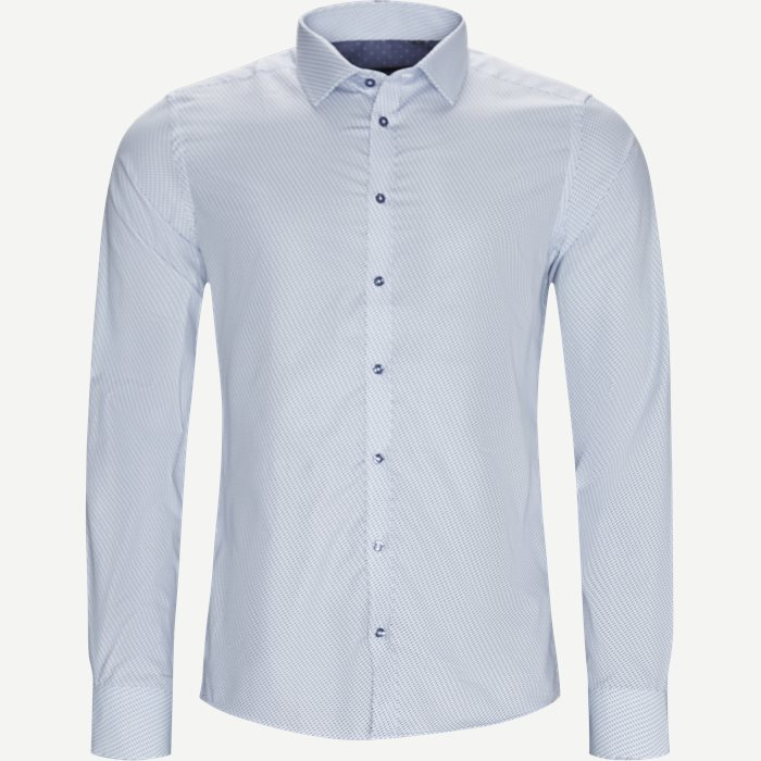 8107 Iver /State Skjorte - Skjorter - Blå