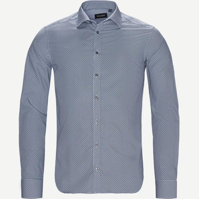 8079 Iver/State Skjorte - Skjorter - Blå