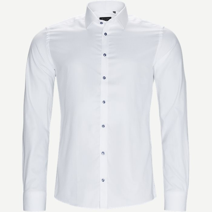 8589 Iver/State Skjorte - Skjorter - Hvid