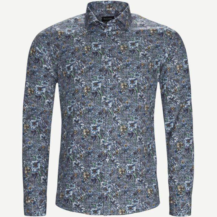 8093 Iver/State Skjorte - Skjorter - Blå