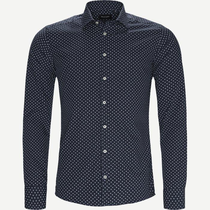 8102 Iver/State Skjorte - Skjorter - Blå