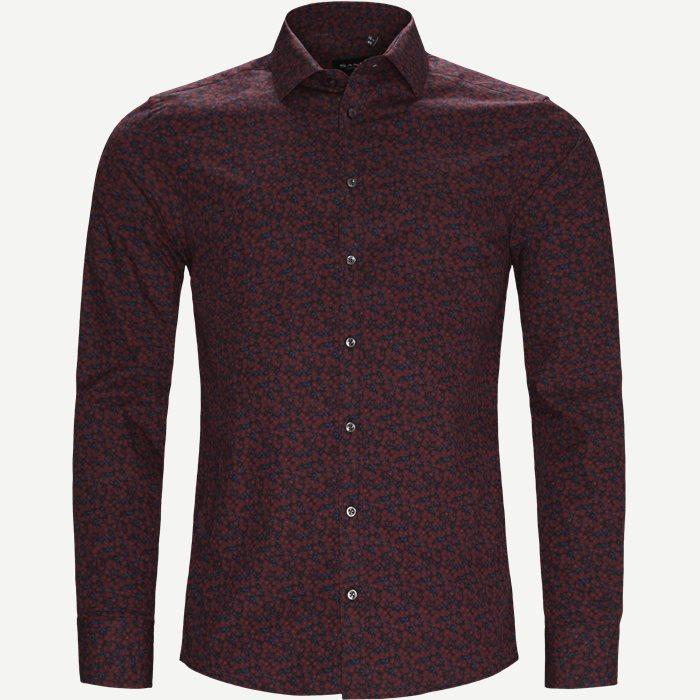 8099 Iver/State Skjorte - Skjorter - Rød