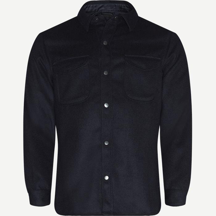 7388 Nick Skjorte - Skjorter - Blå
