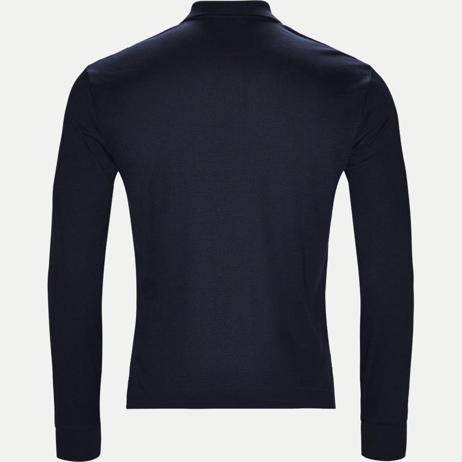 710743841 - Long Sleeve Polo T-shirt - T-shirts - Slim - NAVY - 2