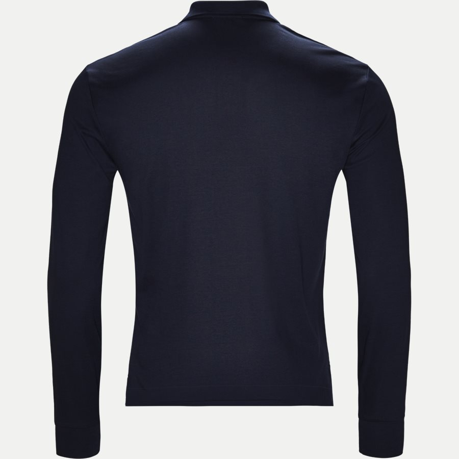 710743841 - Long Sleeve Polo T-shirt - T-shirts - Slim - NAVY - 2