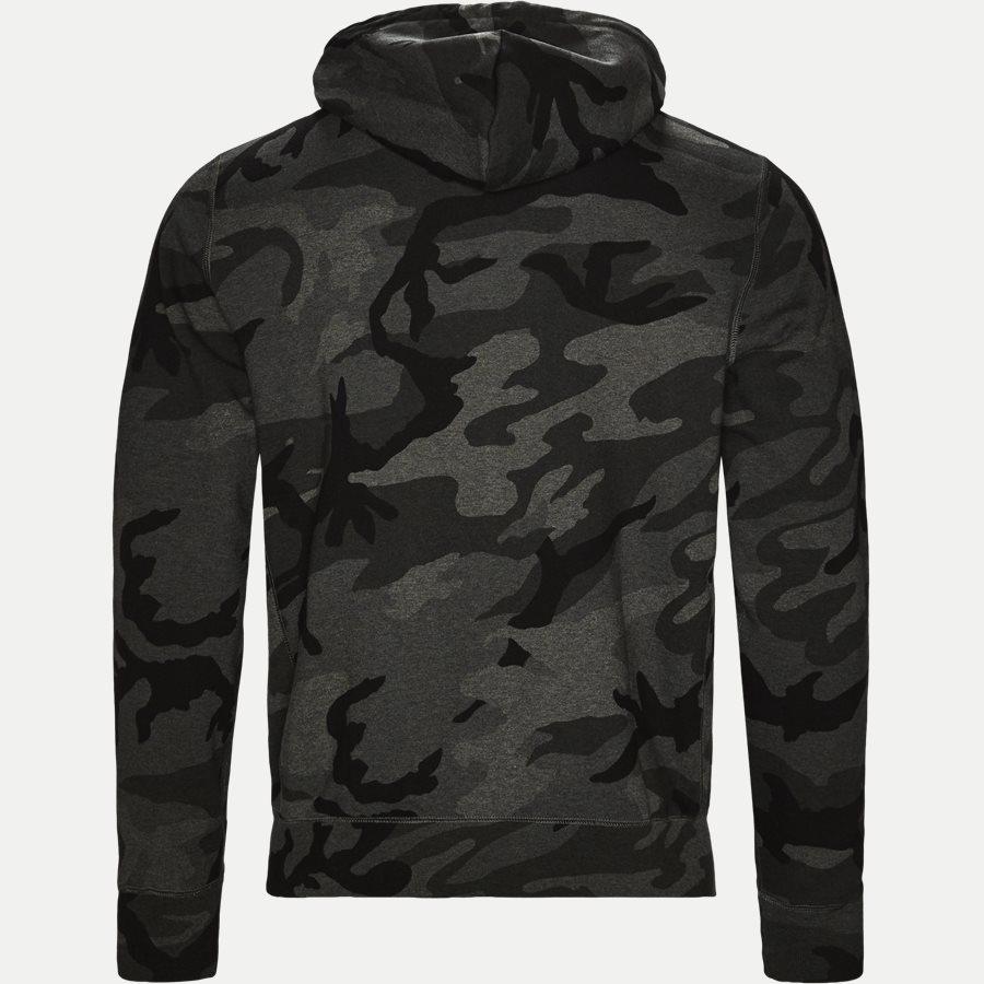 710720844 - Camo Hoodie Sweat - Sweatshirts - Regular - SORT - 2