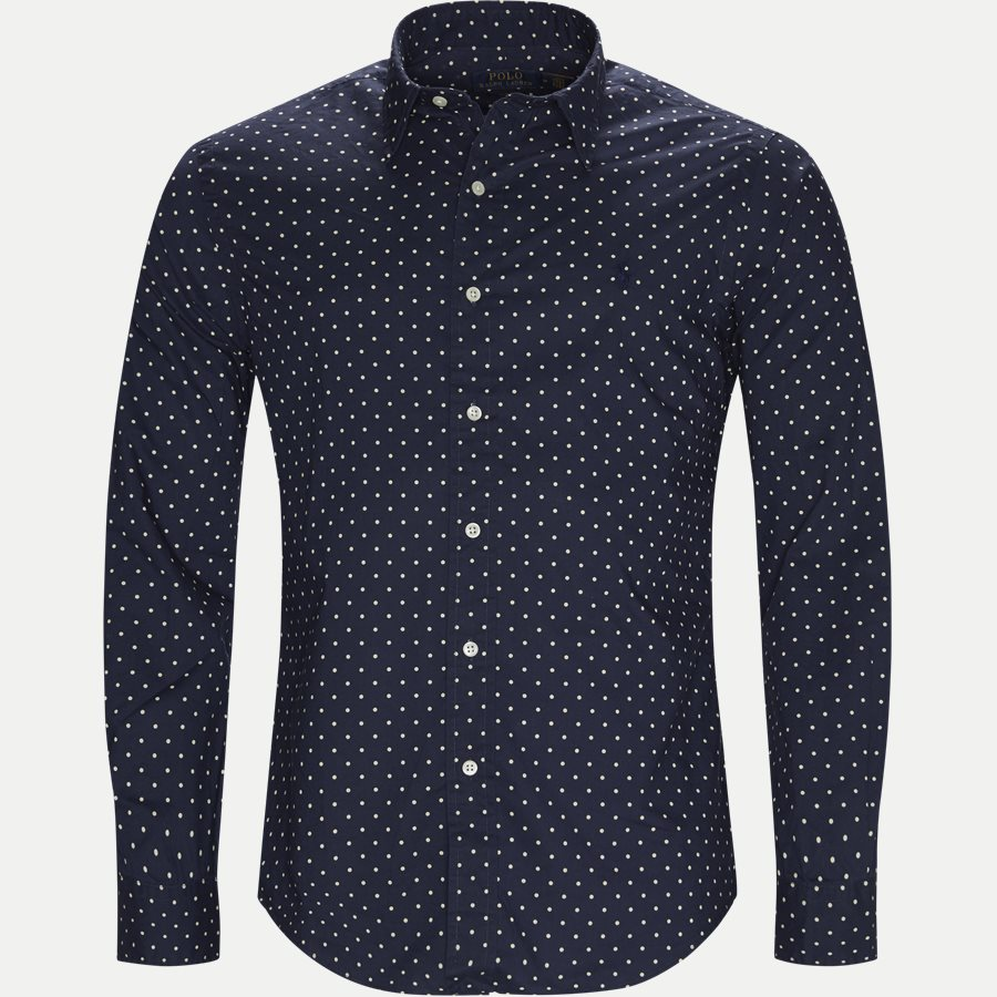 710737100 - Phillip Dot Shirt - Skjorter - Slim - NAVY - 1