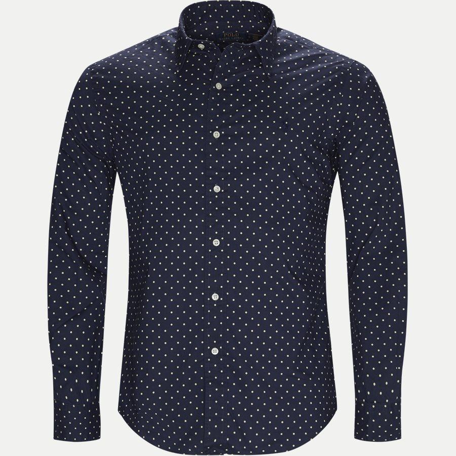 710737100 - Phillip Dot Shirt - Skjorter - Slim - NAVY - 1