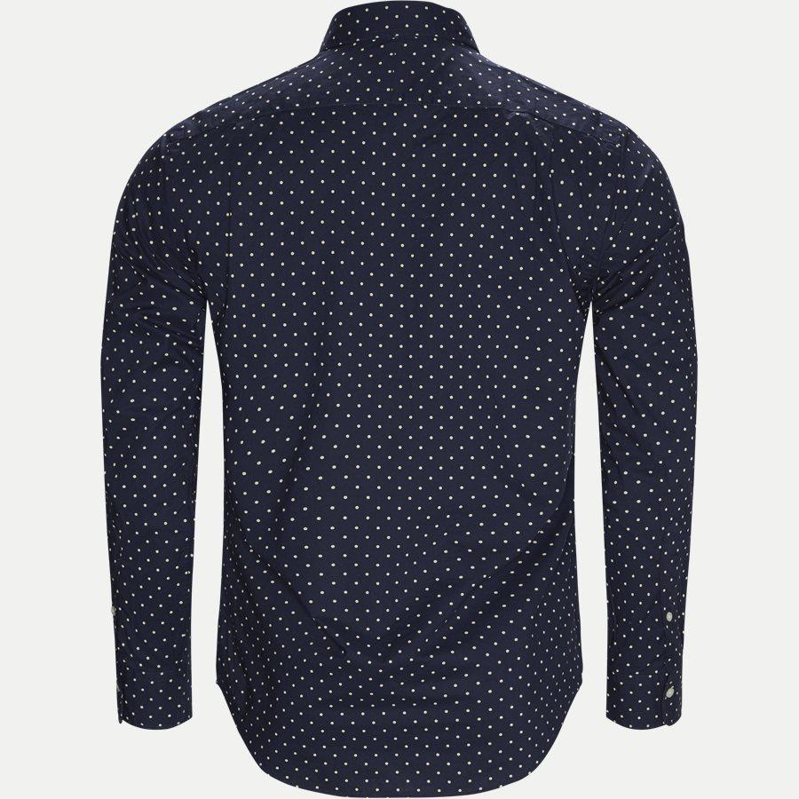 710737100 - Phillip Dot Shirt - Skjorter - Slim - NAVY - 2