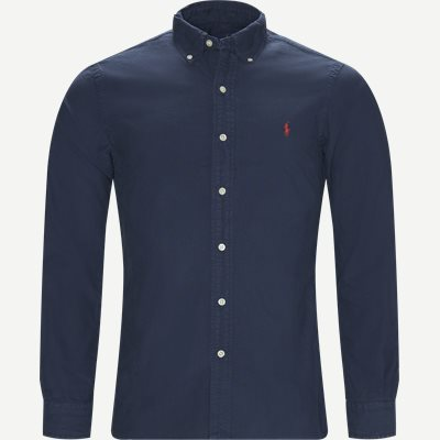 Button-down Oxford Skjorte Slim | Button-down Oxford Skjorte | Blå