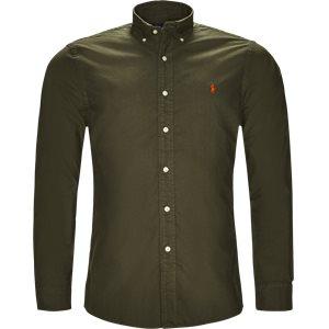 Oxford Button-down Skjorte Slim | Oxford Button-down Skjorte | Army