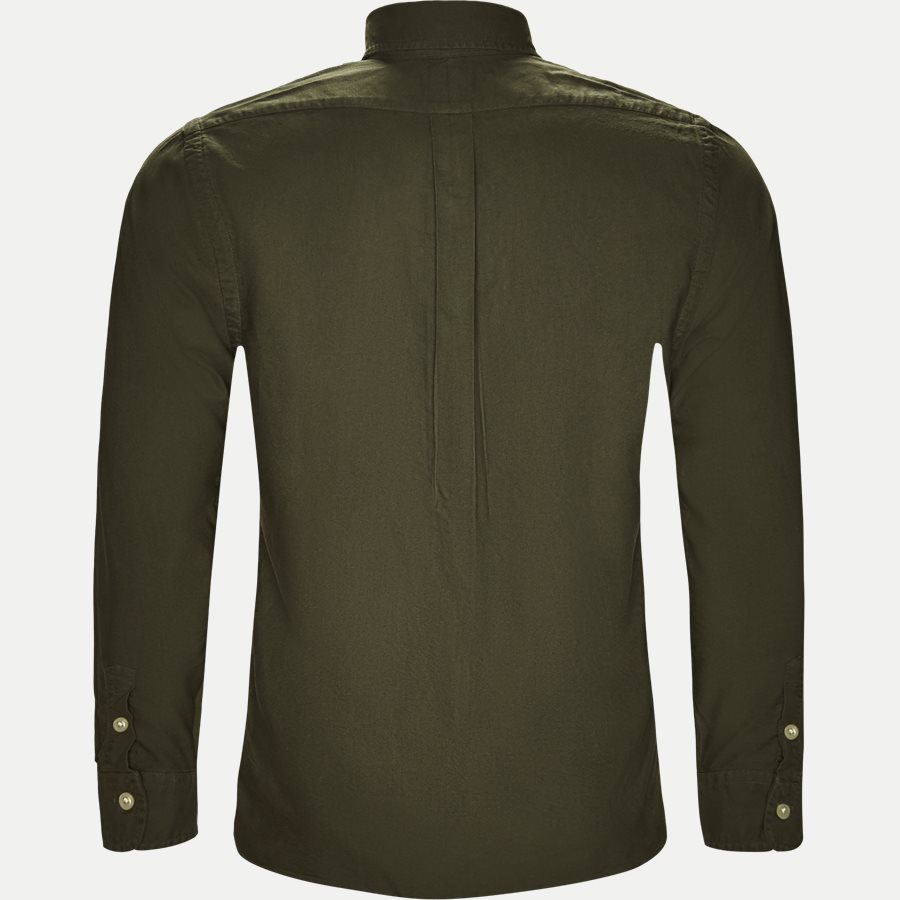 710736557. - Oxford Button-down Skjorte - Skjorter - Slim - OLIVEN - 2