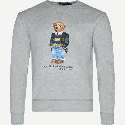 Bear Fleece Sweatshirt Regular | Bear Fleece Sweatshirt | Grå