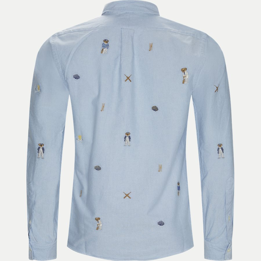 710731731 - Cricket Bear Oxford Shirt - Skjorter - Regular - LYSBLÅ - 2
