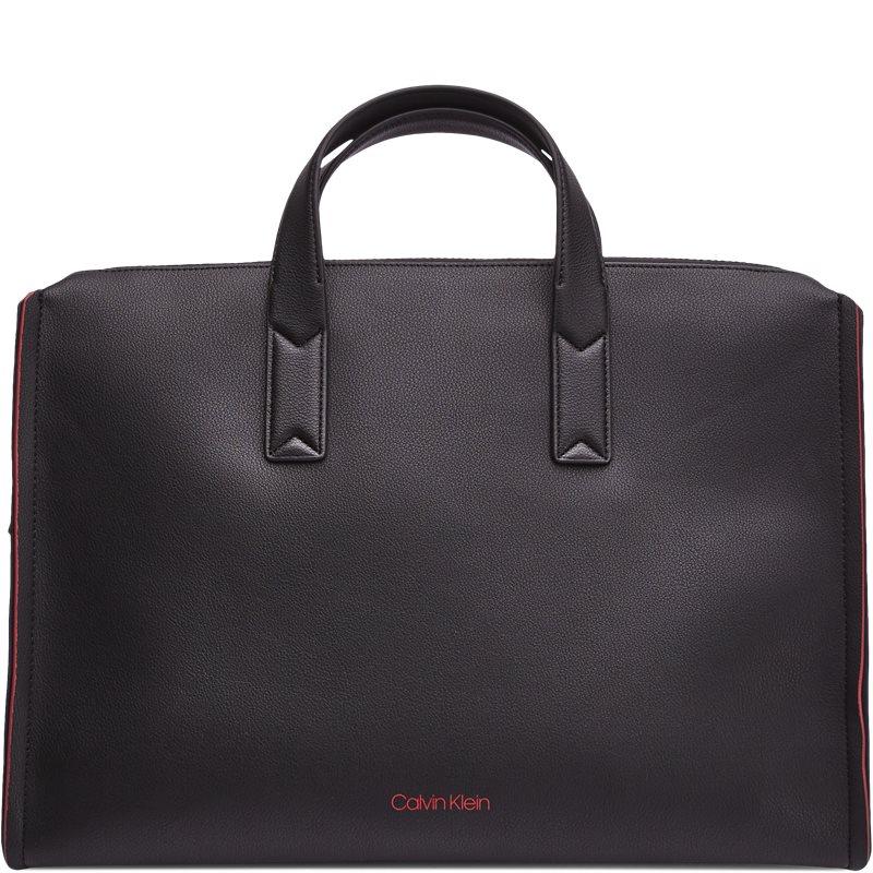 Image of   Calvin Klein K50K503925 DOUBLE EDGE SLIM LAP Tasker Black