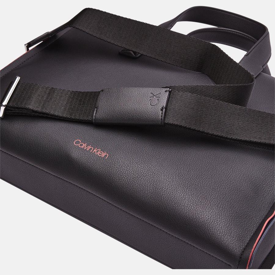 K50K503925 DOUBLE EDGE SLIM LAP - Tasker - BLACK - 6