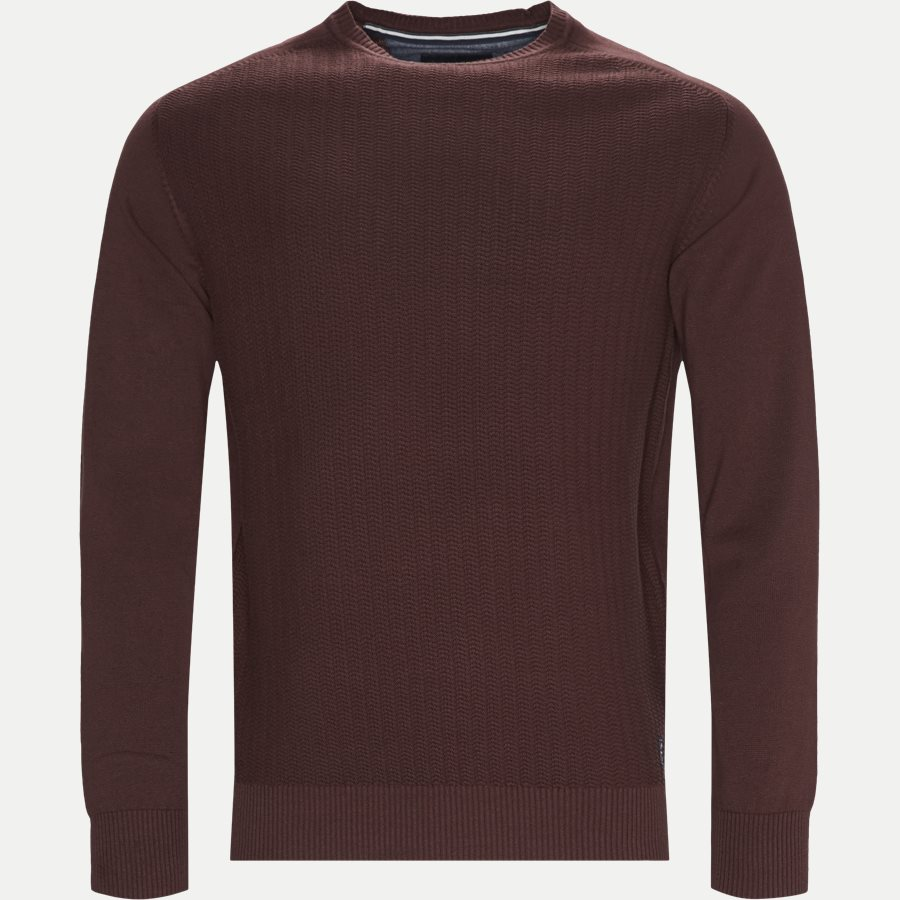 12250 1169 - Holger CP Knit - Strik - Regular - BORDEAUX - 1